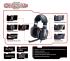 Headset Genius GX Gaming HS-G700V Cavimanus černý