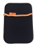 "Pouzdro na tablet GoGEN neoprenové na 8"" černé/oranžové"
