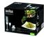 Ponorný mixér Braun Multiquick 5 MQ525 Omelette šedý/bílý