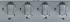 Plynová varná deska Whirlpool AKR 351 IX nerez