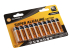 Baterie alkalická GoGEN SUPER ALKALINE AA, LR06, blistr 10 ks