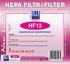 HEPA filtr pro vysavače Jolly HF13 zelený