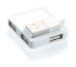 USB Hub Connect IT MINI 4 porty bílý