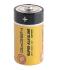 Baterie alkalická GoGEN SUPER ALKALINE C, LR14, blistr 2ks černá/oranžová