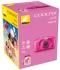 Digitální fotoaparát Nikon Coolpix  S33 + dětský batoh ZDARMA růžový