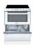 Kombinace varná deska+ trouba+ myčka Candy TRIO 9503/1 W/U bílý