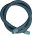 Odpadní hadice Jolly 5012 - 2,0 m - bez kolínka šedé