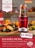 Stolní mixér Delimano NUTRIBULLET 600 Red červený