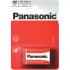 Baterie zinkochloridová Panasonic 9V, 6F22, blistr 1 ks