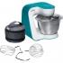 Kuchyňský robot Bosch StartLine MUM54D00 bílý/tyrkysový