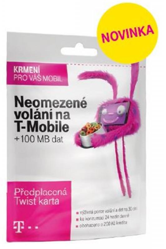 Sim Karta T Mobile Sim S Kreditem T Mobile Twist V Siti 200 Kc