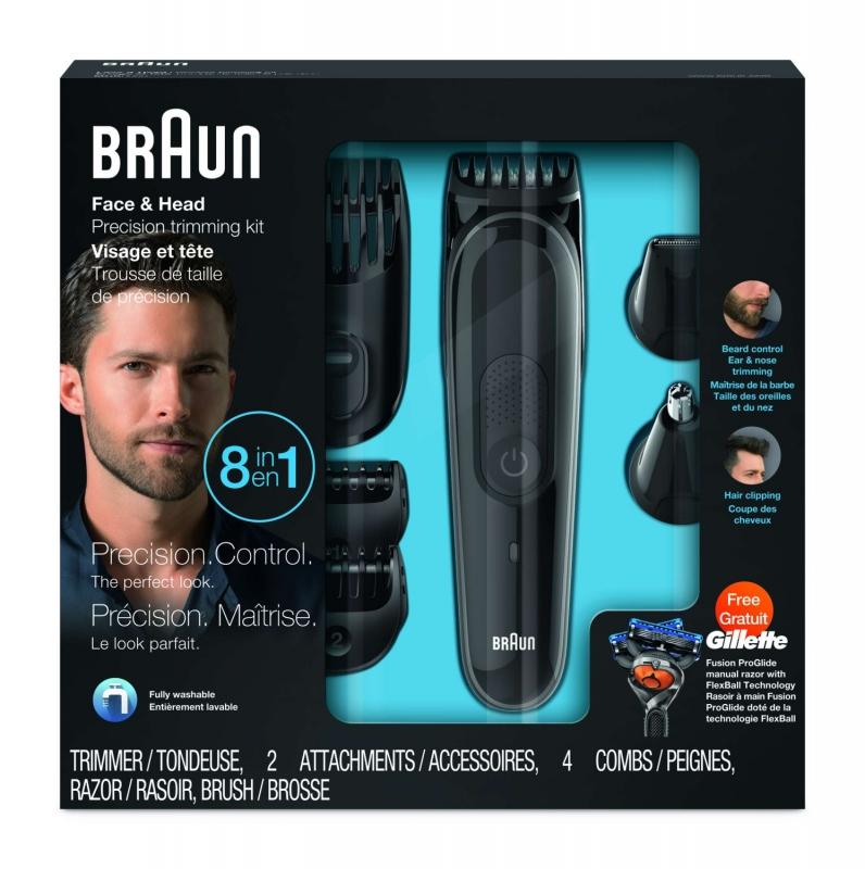 ... Zastřihovač vousů Braun MGK3060 černý ... 1e88b41dc07
