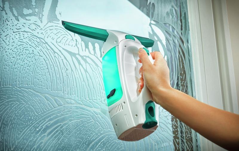 Čistič oken Leifheit Window Cleaner s tyčí (51003) + mopem na okna (51003)  | EURONICS
