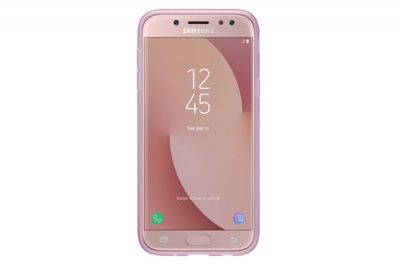 ... Kryt na mobil Samsung Dual Layer Cover pro J3 2017 (EF-PJ330C) růžový a9b22d5f6f0