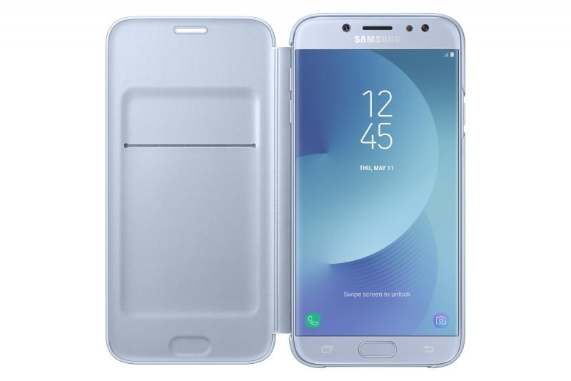 ... Pouzdro na mobil flipové Samsung Wallet Cover pro J5 2017 modré ... eaac3a995c0