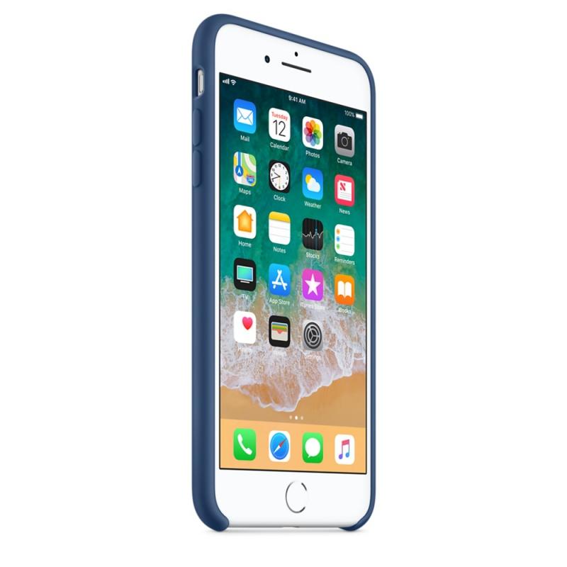 ... Kryt na mobil Apple Silicone Case pro iPhone 8 Plus   7 Plus - kobaltově  modrý 2d86b364af7