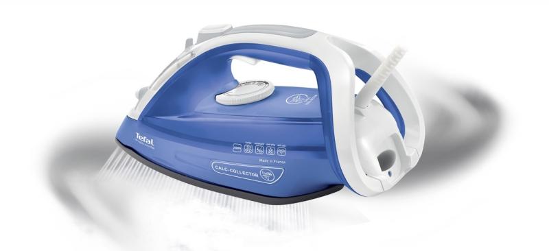 ... Žehlička Tefal Aquaspeed Precision FV5540E0 bílá modrá ... aa69c7c9648