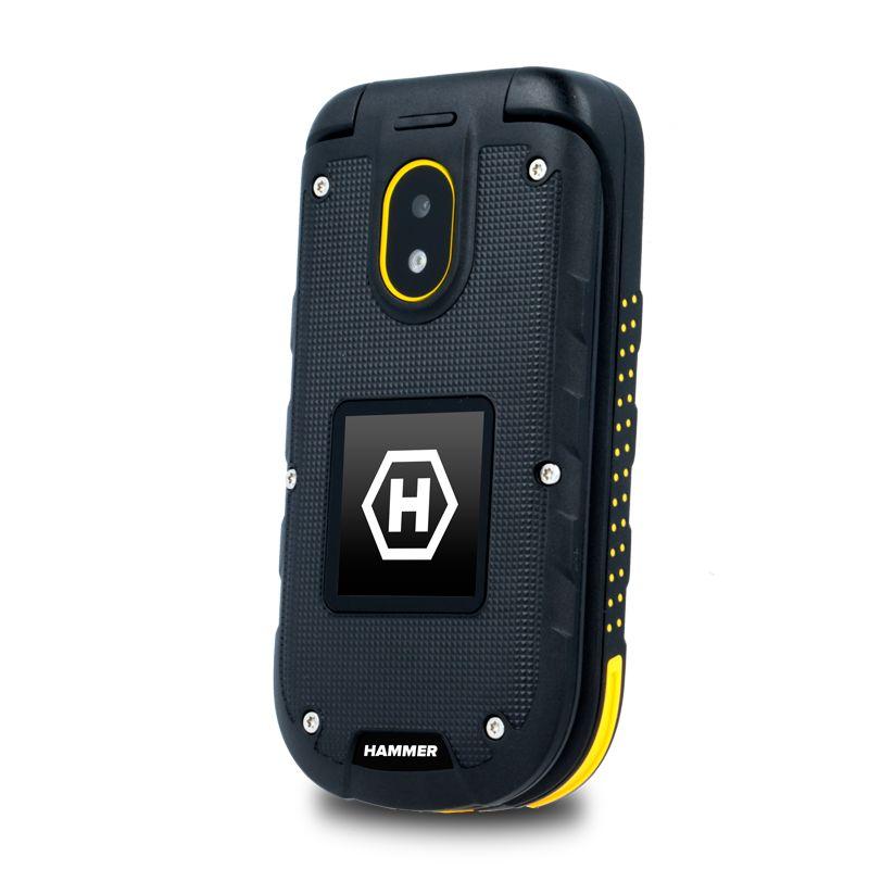 ... Mobilní telefon myPhone Hammer Bow Plus Dual SIM černý oranžový + dárek  ... 92e22a9456f