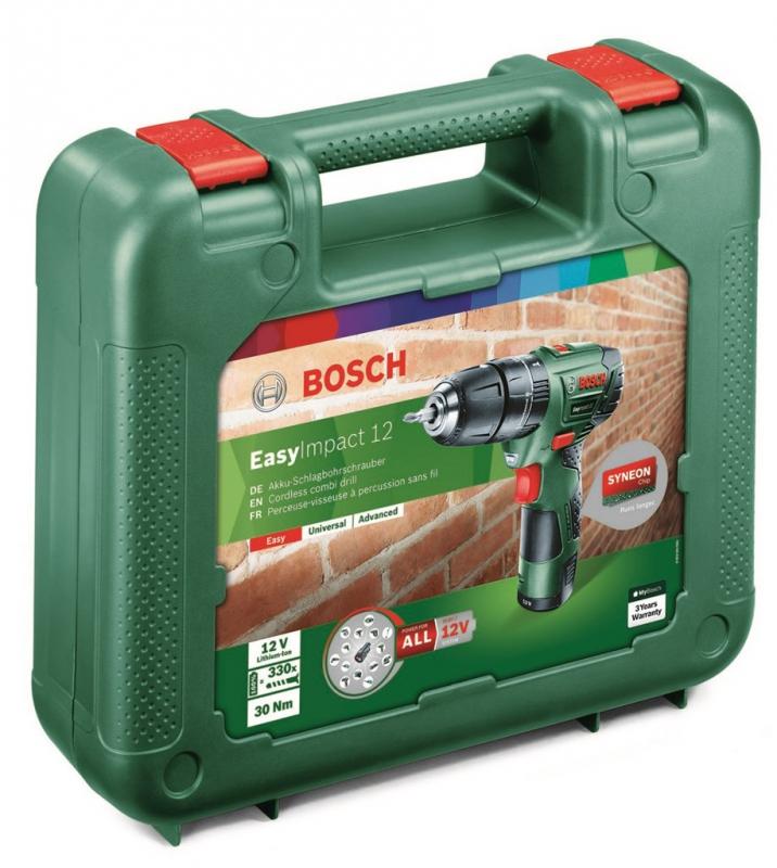 c28122e56ea0d Aku vrtačka Bosch EasyImpact 12 (1 bat) | EURONICS