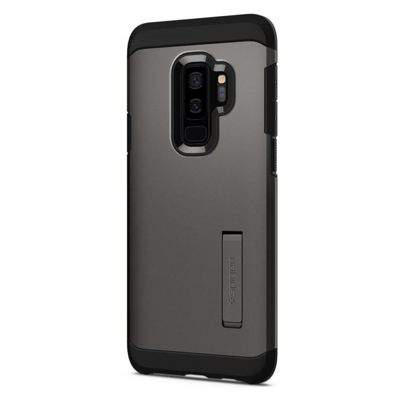 ... Kryt na mobil Spigen Tough Armor pro Samsung Galaxy S9+ - gunmetal ... faf0c09ad03