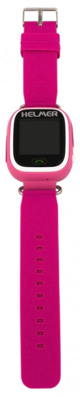 49bd2174e Chytré hodinky Helmer LK 703 dětské růžové | EURONICS