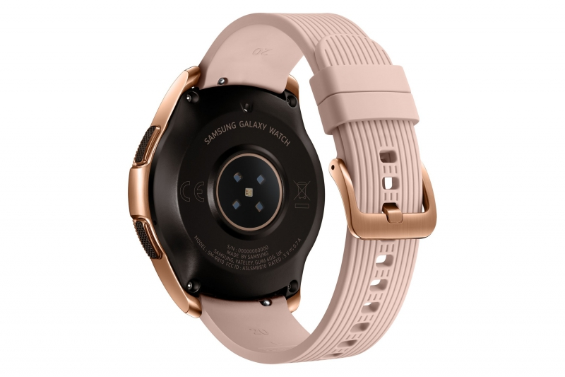 dbd4e7d9ae ... Chytré hodinky Samsung Galaxy Watch 42mm růžové ...