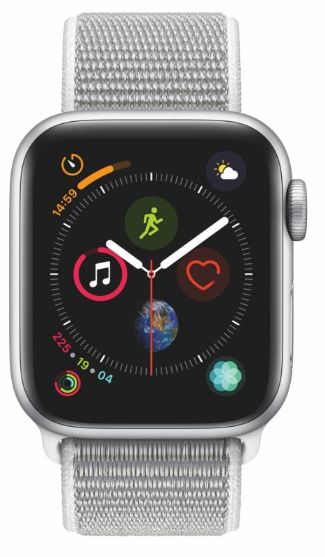 d9d1c7828fd ... Chytré hodinky Apple Watch Series 4 Watch Series 4 GPS 40mm pouzdro ze  stříbrného hliníku - Video