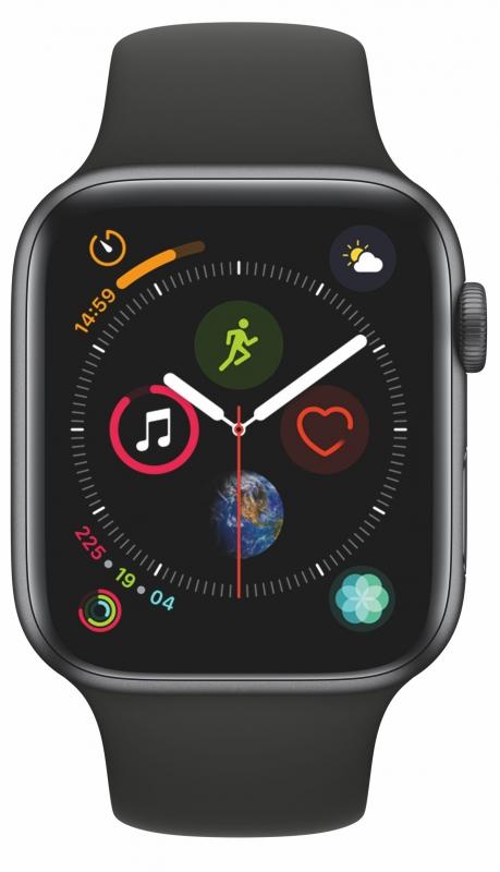 741e4a366fa ... Chytré hodinky Apple Watch Series 4 Watch Series 4 GPS 44mm pouzdro z  vesmírně šedého hliníku Video