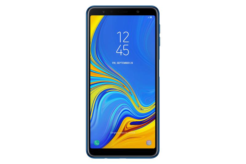 68cd4ae88 Mobilní telefon Samsung Galaxy A7 Dual SIM modrý | EURONICS