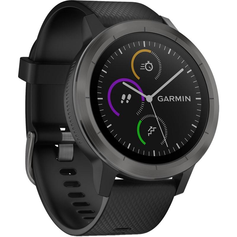 Chytré hodinky Garmin vívoActive 3 Optic černé šedé  8619535c78