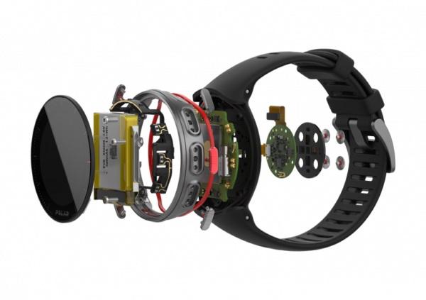 M L černé GPS hodinky Polar Vantage M e9a755a6159