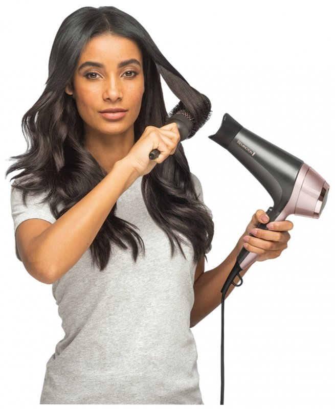 Remington straight and curl