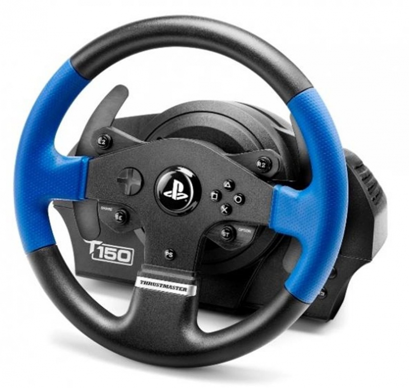 volant thrustmaster t150 pro ps4 ps3 pc ped ly ern euronics. Black Bedroom Furniture Sets. Home Design Ideas