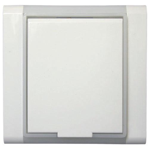 Zásuvka TIME - ELEMENT bílá/ledověbílá