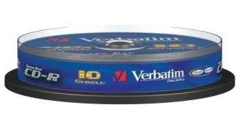 Verbatim 52x, 10pack
