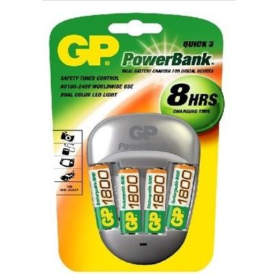 GP PowerBank GP PB27 stříbrná