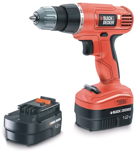Black-Decker EPC12CAB, 2 aku