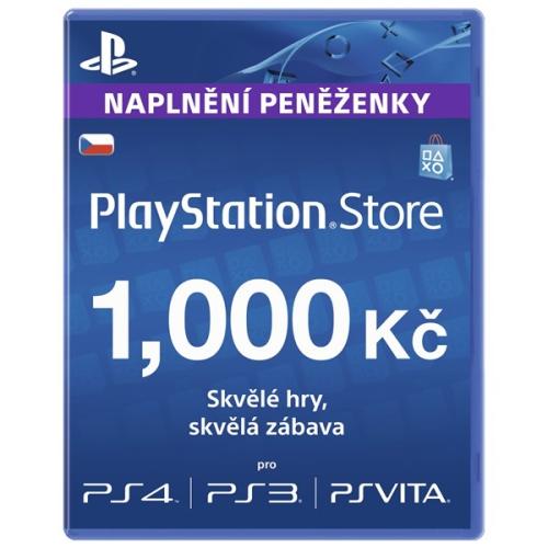 Sony PSPGO, PS VITA, PS3, PS4, PSP v hodnotě 1000,- kč