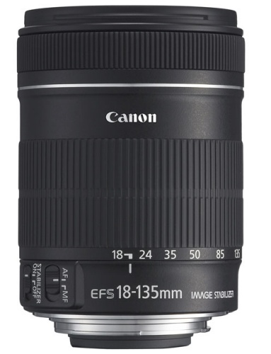 Canon EF-S 18-135mm f/3,5-5,6 IS černý