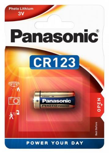 Fotografie Panasonic CR123A