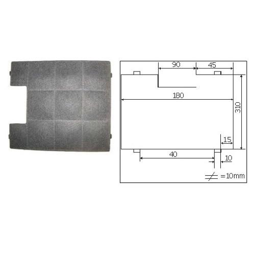 Filtr uhlíkový Amica FWK 180