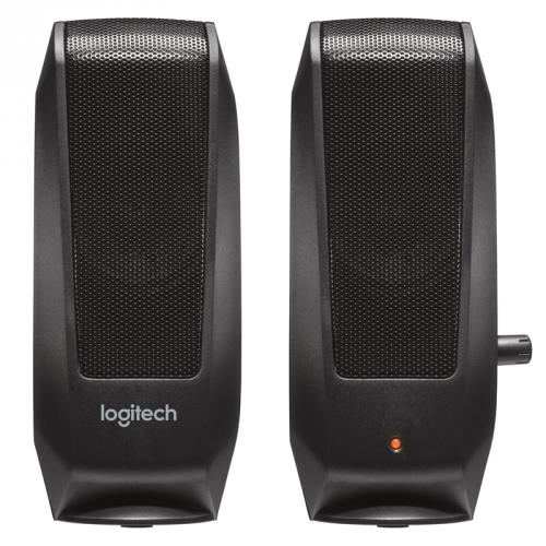 Logitech S-120 2.0 černá