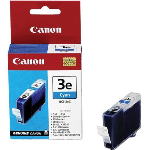 Canon BCI-3eC, 280 stran - originální modrá