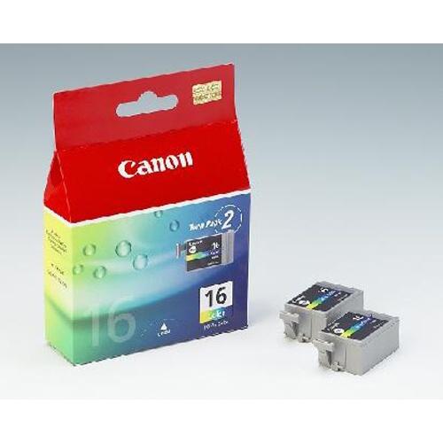Canon BCI-16C, 100 stran - originální červená/modrá/žlutá