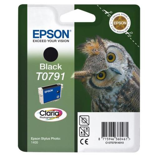 Epson T0791, 11ml - originální černá