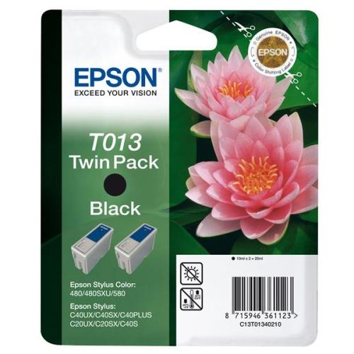 Epson T013, 2x 10ml černá
