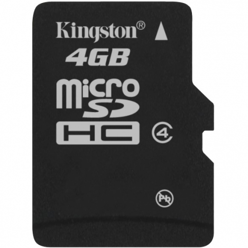 Kingston MicroSDHC 4GB Class4