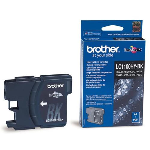 Brother LC1100HYBk, 900 stran - originální