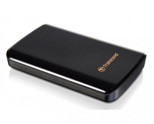 Transcend StoreJet 25D3 500GB černý