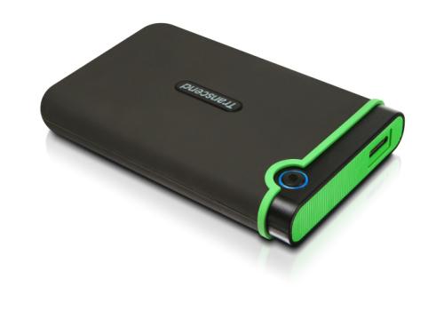 Transcend StoreJet 25M3 500GB šedý/zelený